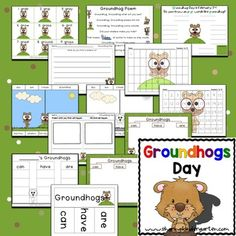 Groundhog Day - Sharing Kindergarten