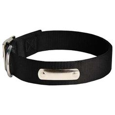 Cane Corso #nylon #dog #collar with #name #tag $16.90 | all-about-cane-corso-dog-breed.com