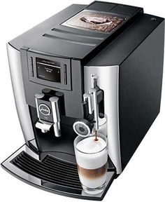 Jura E8 Automatic Coffee Machine Chrome ** For more information, visit image link.-It is an affiliate link to Amazon. #CoffeeMachine
