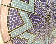 Tampo MDF revestido em mosaico azulejo