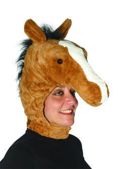 Chicago Costume - Deluxe Plush Horse Head Hat, $29.99 (https://www.chicagocostume.com/deluxe-plush-horse-head-hat/)