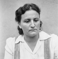 THE LIBERATION OF BERGEN-BELSEN CONCENTRATION CAMP 1945: PORTRAITS OF BELSEN GUARDS AT CELLE AWAITING TRIAL, AUGUST 1945. Helene Kopper: sentenced to 15 years imprisonment.
