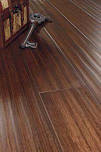 Bamboo engineered hardwood floor SCRAPED HICKORY