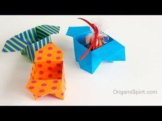 "Origami Sanbo Box : : Caja tradicional ""Sanbo"" - YouTube"