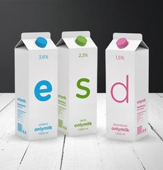 Onlymilk Package Design