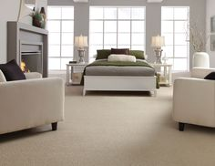 Shaw Careless Whisper is part of the Stainmaster Active Family and is a 100 percent nylon carpet from the Tuftex collection.