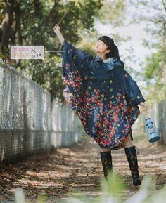 Cute Spring rain poncho -- Seda mag July 2014
