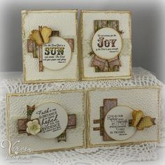 Hi friends! I'm back with another card set using the Viva la Verve December One Sheet Wonder template . This card set was a gift for my mo...