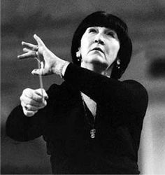Veronika Dudarova (December 5, 1916 – January 15, 2009) was a Soviet and later Russian conductor, the first woman to succeed as conductor of symphony orchestras in the 20th century.
