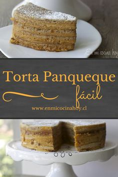 Las tortas de panqueques son de las favoritas de todos en Chile, acá te enseño una receta simple y más rápida para hacerlas en casa. Baking Recipes, Cake Recipes, Chilean Recipes, Chilean Food, Specialty Cakes, Pastry Cake, Vegan Cake, Desert Recipes, Sweet Bread