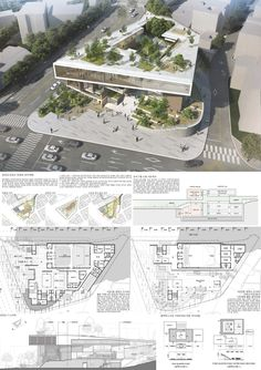 Color 2 © Ung-dong Architects Office Co., Office Design Color 2 © Ung-dong Architects Office Co., Office ©운생동건축사사무소(주) Design Color 2 © Ung-dong Architects Office Co. Plan Concept Architecture, Conceptual Architecture, Building Concept, Architecture Panel, Cultural Architecture, Architecture Drawings, School Architecture, Sustainable Architecture, Landscape Architecture