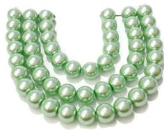 Bulk 6mm glass beads | 6mm glass pearls | 6mm round beads | 6mm mint pearls | light green glass pearls | craft supplies | jewelry supplies by vickysjewelrysupply. Explore more products on http://vickysjewelrysupply.etsy.com