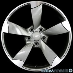 """18"""" GUNMETAL S-LINE STYLE WHEELS FITS AUDI A5 S5 RS5 B8 8T COUPE CABRIOLET RIMS   eBay"""