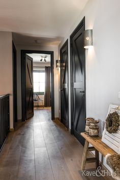 Industrial Interior Doors, Blythe House, Modern Cottage, New Room, Windows And Doors, Interior Inspiration, Architecture Design, Sweet Home, New Homes