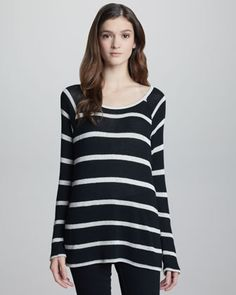 Dalya Striped Sweater by Joie at Neiman Marcus.