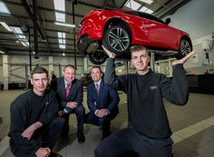 We're taking on 27 more apprentices, which will take us to a total of 115 across the business!