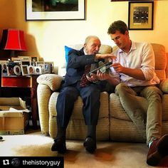 #Repost @thehistoryguy  Johnny Johnson the last British Dambuster talks me through the strengths and weaknesses of the Lancaster heavy bomber. I'll never forget his description of that fateful night in May 1943 when 617 Squadron attacked the dams of the Ruhr breaching two of them but losing nearly half the aircrew assigned to the mission.
