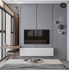 Cool Bedroom Tv Wall Design Ideas, So far as your bedroom is concerned, there is absolutely no dearth of alternatives available in the industry. The bedroom is the very best selection. Modern Bedroom Design, Contemporary Bedroom, Modern Room, Bedroom Designs, Bedroom Tv Unit Design, Modern Contemporary, Bedroom Tv Wall, Bedroom Decor, Bedroom Ideas