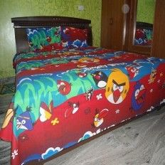 Angry Birds Kids Bed Sheets Kids Bed Sheets, Designer Bed Sheets, Angry Birds, Kid Beds, Bed Design, Comforters, Blanket, Furniture, Home Decor