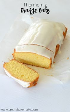 Orange Cake Recipe - both regular and thermomix instructions included.