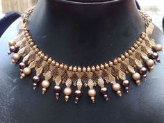 Collar Byzantine Necklace by Giselea