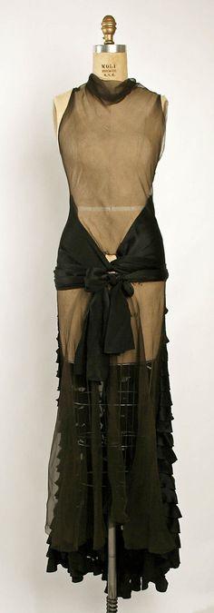 Evening Dress, Madeleine Vionnet (French, Chilleurs-aux-Bois 1876–1975 Paris): fall/winter 1929-1930, French, silk.