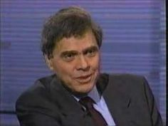 Charlene Hunter Gault  (*swoon*) interviews media theorist and cultural critic Neil Postman on PBS' The MacNeil/Lehrer NewsHour in 1995.