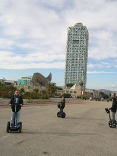 Segway Outdoor Life, Willis Tower, Outdoor Activities, Great Places, Barcelona, Spain, Building, Sports, Travel