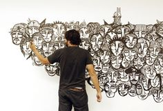 Blog: I See People in the Crowd - Doodlers Anonymous - by Guilherme Kramer