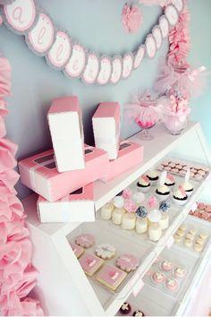 Ballerina Bakery Birthday Party