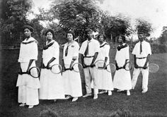 AskHistorians - 1915 FAMU students and instructors with tennis equipment. Tallahassee, FL.