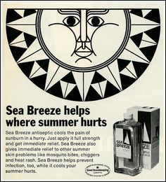 Sea Breeze Antiseptic, 1969 by MewDeep, via Flickr