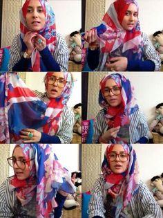 Dina Tokio Hijab styling