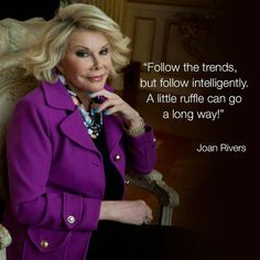 Celebrity Quotes : Joan Rivers #Joan_Rivers #Joan_Rivers_Quotes