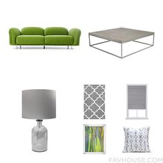 Decorating Collage Featuring Moooi Sofa Slab Coffee Table Lighting And Light Grey Area Rug From September 2016 #home #decor