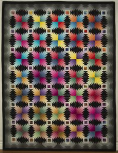 Pineapple Reduced quilt by R. Leslie Forbes.