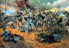 1862 08-29 Second Manassas - Rebel Yell - Don Troiani