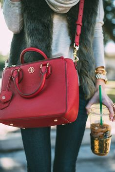 This bag is 20% off with code LUCKY! Click through to shop.
