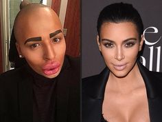 British Man Claims to Have Spent $150K  to Look Like Kim Kardashian http://www.people.com/article/jordan-james-parke-surgery-kim-kardashian