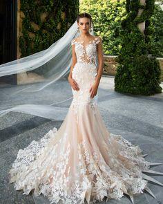 Milla Nova 2017 Wedding Dresses, Fit and Flare Wedding Dress www.elegantwedding.ca