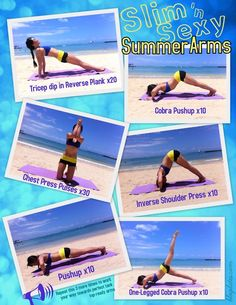 Blogilates: Slim and Sexy Summer Arms Workout