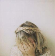 criss cross headband braid