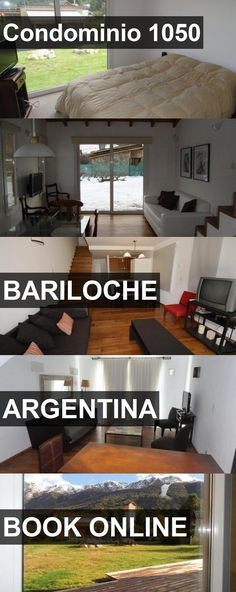 Hotel Condominio 1050 in Bariloche, Argentina. For more information, photos, reviews and best prices please follow the link. #Argentina #Bariloche #travel #vacation #hotel