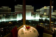 Eiffel Tower Restaurant at Paris, Las Vegas.the best lobster thermidor and chocolate souffle, excellent service, and an awesome view of the Strip and Bellagio fountains. A very romantic and indulgent place to dine. Las Vegas Restaurants, Paris Hotels, Best Restaurants In La, Lunch Restaurants, Restaurant At Paris, Eiffel Tower Restaurant, Waterfront Restaurant, Online Restaurant, Viajes