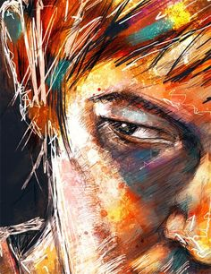 Colorful Daryl - love this!
