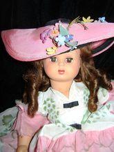 RARE Beautiful Vintage 1950's Italian Furga Doll - DD
