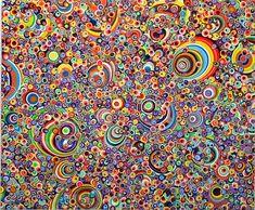 Omar Chacon, Bacanal Bacanisimo 2010, Acrylic on canvas