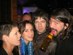 Pink, Juliette Lewis, Noel Gallagher and Dave Grohl