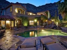 Browse a variety of vacation rentals with Mclean Company Rentals: luxury rentals, vacation condos, vacation homes, wedding venues and event homes. Palm Springs Vacation Rentals, Palm Springs Hotels, San Jacinto Mountains, Maine House, Rental Property, Great Places, Ideal Home, Night, Travel