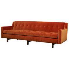 Edward Wormley, Tufted Sofa